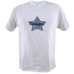 Enrique (blue star) Value T-shirt