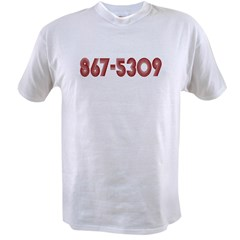 867-5309 Value T-shirt
