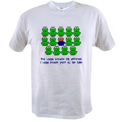 Being Different FROGS 3 Value T-shirt