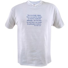 Dalai Lama 12 Value T-shirt