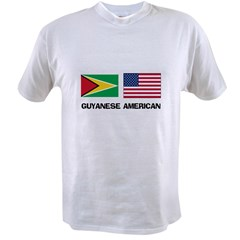 Guyanese American Value T-shirt