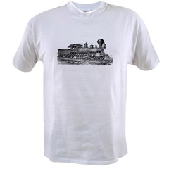 Locomotive (Black) Value T-shirt