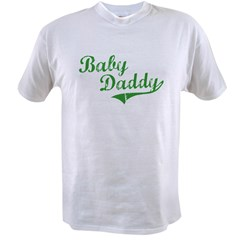 Baby Daddy Old School Style Value T-shirt