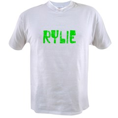 Rylie Faded (Green) Value T-shirt