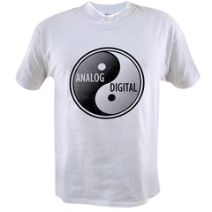 Analog vs Digital Value T-shirt