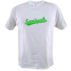 Retro Saniyah (Green) Value T-shirt