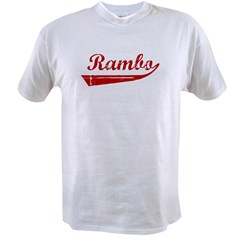 Rambo (red vintage) Value T-shirt