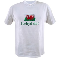 Wales Iechyd da Value T-shirt