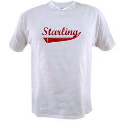 Starling (red vintage) Value T-shirt