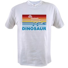 Colorful Dinosaur Value T-shirt