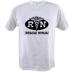 Ninja Nurse Value T-shirt