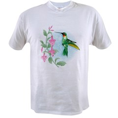 FUCIA HUMMINGBIRD Value T-shirt