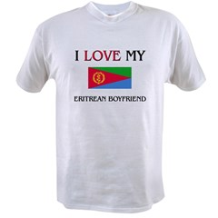 I Love My Eritrean Boyfriend Value T-shirt