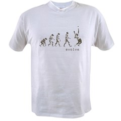 EVOLUTION OF TENNIS Value T-shirt