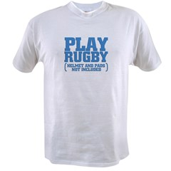 No Pads in Rugby Value T-shirt