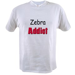 Zebra Addic Value T-shirt