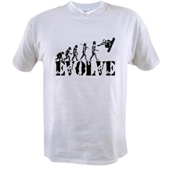 Snowboarding Evolution Value T-shirt