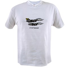 USN F-15 Tomca Value T-shirt