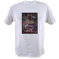 UK Armed Forces Day Value T-shirt