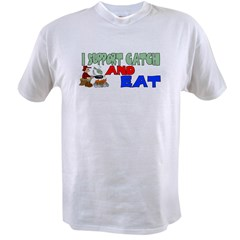 Support catch and ea Value T-shirt