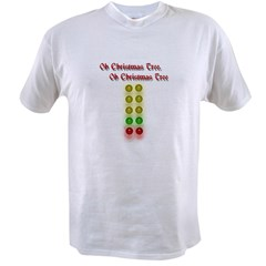 Drag Race Christmas Tree Value T-shirt
