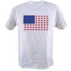 Original Patriotic Horse Flag Value T-shirt