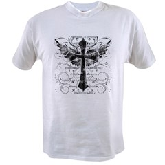 Winged Cross Value T-shirt