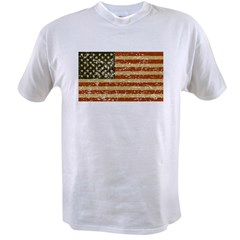 Vintage American Flag Value T-shirt
