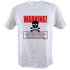 WARNING MMA Value T-shirt