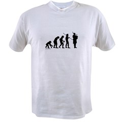 Bagpipe Evolution Value T-shirt