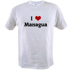 I Love Managua Value T-shirt