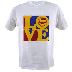 Library Work Love Value T-shirt