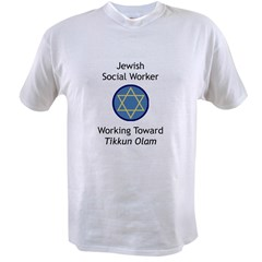 Jewish Social Worker Value T-shirt