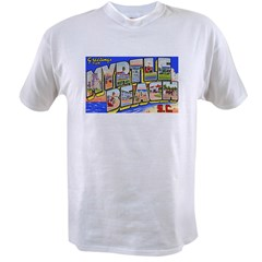Myrtle Beach South Carolina (Front) Value T-shirt