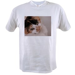 Calico Cat Value T-shirt