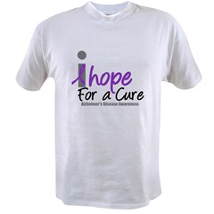 Alzheimer's Hope Value T-shirt