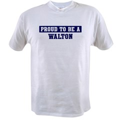 Proud to be Walton Value T-shirt