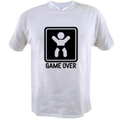 Game Over Value T-shirt