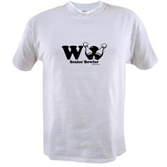 Wii Senior Bowler Value T-shirt