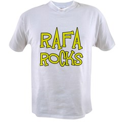 Rafa Rocks Tennis Design Value T-shirt