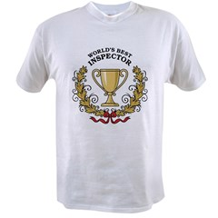 World's Best Inspector Value T-shirt