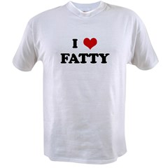 I Love FATTY Value T-shirt
