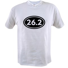 26.2 Marathon Oval Value T-shirt