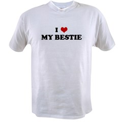 I Love MY BESTIE Value T-shirt