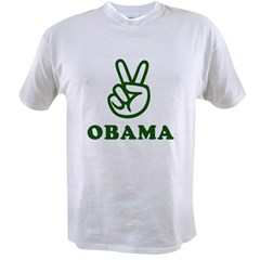 Obama for Peace Value T-shirt