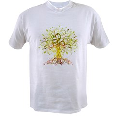 abstract tree Value T-shirt