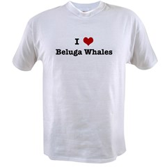 I love Beluga Whales Value T-shirt