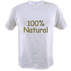 100% Natural Value T-shirt