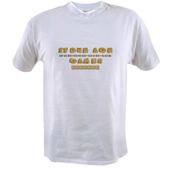 Stone Age Gamer Value T-shirt