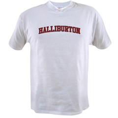 HALLIBURTON Design Value T-shirt